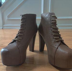 Platform high heel